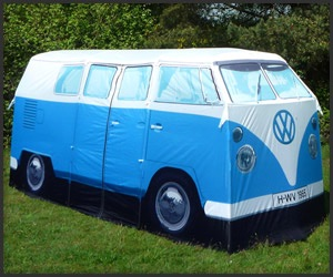 Always wanted a VW van. This tent sleeps 4 sand has 2 rooms.