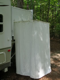IMG 0965mod IMG 0964modDYI   how to build an RV Outdoor Shower Stall   Camp That Site. Outside Shower Door For Rv. Home Design Ideas