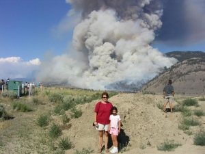 Kamloops fires