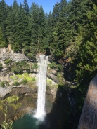 Brandywine Falls: a side trip on our way back from Whistler