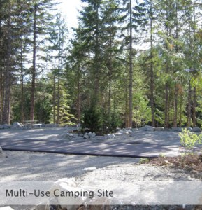 Photo taken from Riverside campground web site